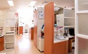明るい診察室